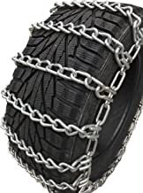 TireChain.com 11-15LT Two Link Tire Chains w/SNO Chain Ramps