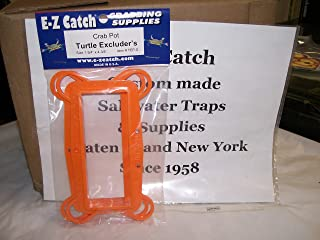 E-Z Catch 2-Pack Plastic Crab Pot Turtle Excluders Size 1-3/4