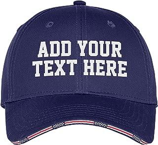 Custom Embroidered Baseball Golf Trucker Snapback Camo Hat - Monogrammed Cap