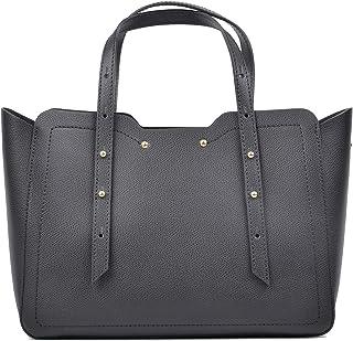 Carla Ferreri Black Tote Bag For Women