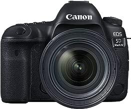 Canon EOS 5D Mark IV Full Frame Digital SLR Camera with EF 24-70mm f/4L IS USM Lens Kit (Renewed)
