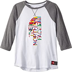 The North Face Kids - International Collection Tri-Blend 3/4 Tee (Little Kids/Big Kids)