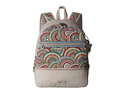 Sakroots Entrada Backpack (Multi Mosaic Wanderlust) Backpack Bags