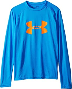 Big Logo Long Sleeve Tee (Big Kids)