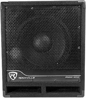 Rockville Bass Gig Active Powered PA Subwoofer DJ/Pro 1200 Watt, 10 inch (RBG10S)