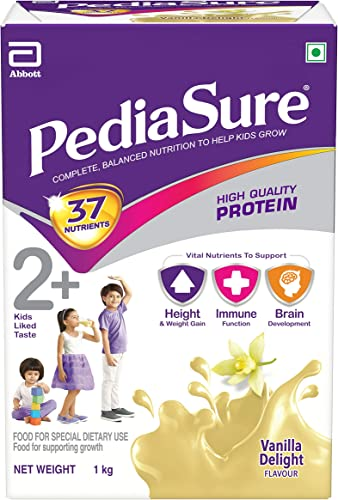 Pediasure Health and Nutrition Drink Powder for Kids Growth 1kg Vanilla
