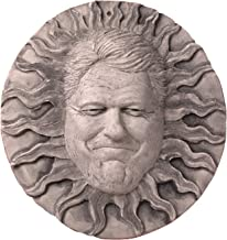 JBK 12 Inch Ceramic Bill Clinton Sun Face, Antique White