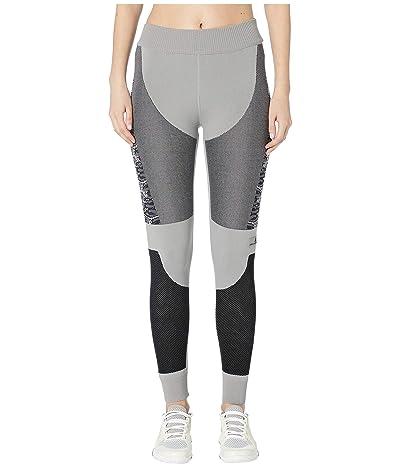 adidas by Stella McCartney Run Prime Knit Tights DT9186 (CH Solid Grey/Black) Women
