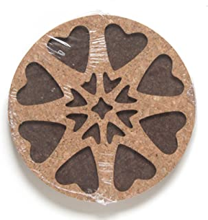 PAMPERED CHEF ROUND UP FROM THE HEART TRIVET #2948
