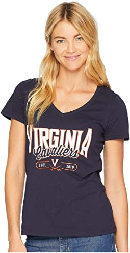 Virginia Cavaliers University V-Neck Tee