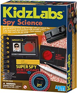 4M Fun Science Kidz Labs / Spy Science - Secret Message Educational Toys