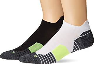 Run 2.0 No Show Tab Socks for Men and Women (1 and 2 Pair)