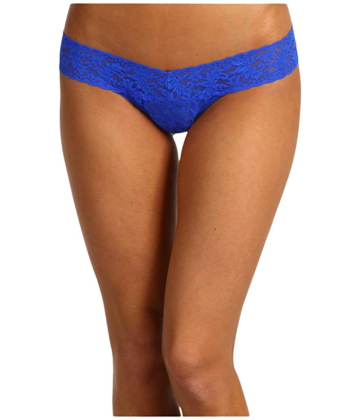 Hanky Panky Signature Lace Low Rise Thong (Sapphire) Women's Underwear