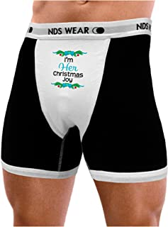 NDS Wear TooLoud Her Christmas Joy for Couples Mens Boxer Brief Underwear