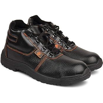 Aktion Safety Tigre PVC Shoes 8016055 High Cut - Size 6, Black