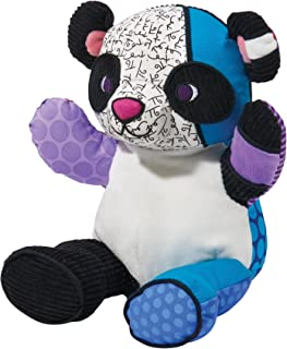 Britto by Internationally Acclaimed Artist Romero Britto for Enesco Panda Plush - Large -15 inches tall