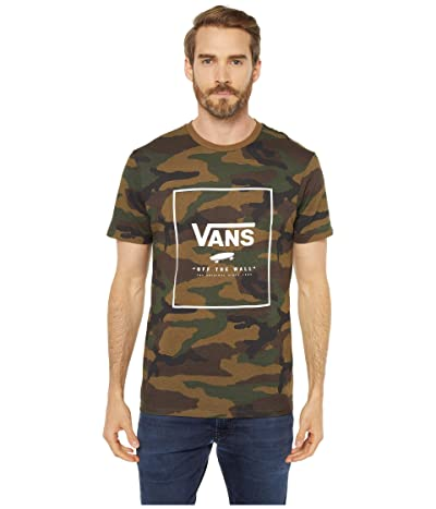 Vans Print Box Tee (Camo/White) Men