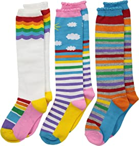 d63cd9db678 Jefferies Socks 6-Pack Acrylic Cable Knee High (Toddler Little Kid ...