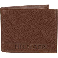 Tommy Hilfiger Men's Leather Wallet - RFID Blocking Slim Thin Bifold with Removable Card Holder...