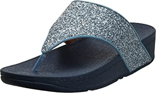 FitFlop Olive Glitter Mix Toe-Post Sandals Women's Toe Post