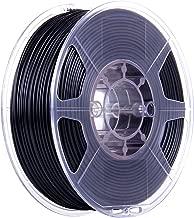 eSUN 1.75mm eABS-MAX ABS 3D Printer Filament 0.5KG Spool, 0.5KG Black