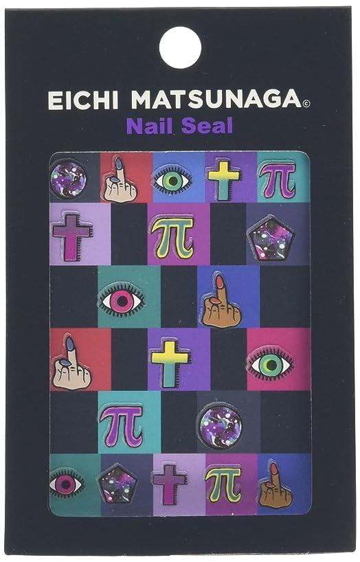 有名なプロポーショナル着飾るウイングビート EICHI MATSUNAGA ネイルシール EICHI/S-011