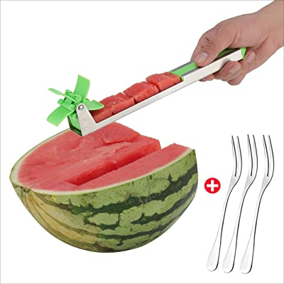 Watermelon Windmill Slicer Cutter Stainless Ste...