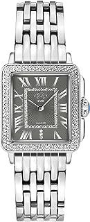 Women's Padova Swiss Quartz Watch with Stainless Steel Strap, Silver, 18 (Model: 12301B)