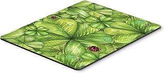 Caroline's Treasures BB5754MP Shamrocks and Lady Bugs Mouse Pad, Hot Pad or Trivet, Large, Multicolor