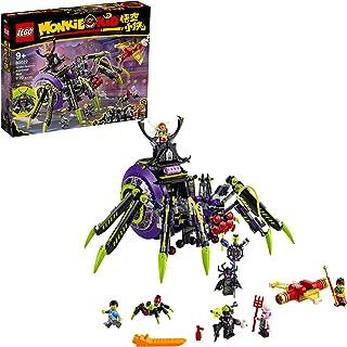 LEGO Monkie Kid Spider Queen's Arachnoid Base 80022...