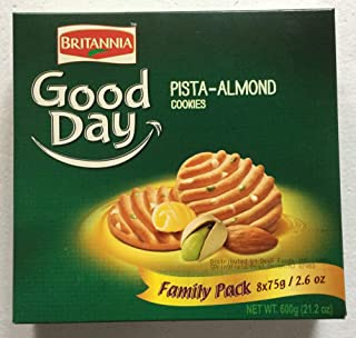 Britannia Gooday Pista Almond Cookies Family Pack 600 G