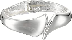 Bypass Hinge Bangle Bracelet