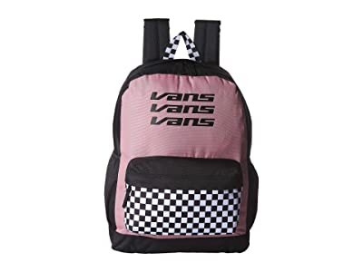 Vans Sporty Realm Plus Backpack (Nostalgia Rose/Trifecta) Backpack Bags