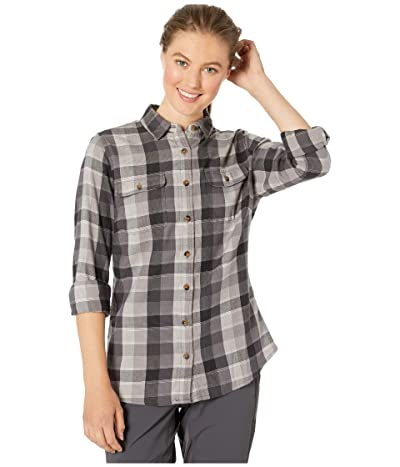 Mountain Khakis Pearl Street Flannel Shirt (Black) Women