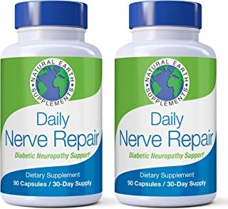 Sponsored Ad - Daily Nerve Repair Neuropathy Pain Relief for Feet & Hands-Sciatic Nerve Pain Relief All-Natural Dietary Su...