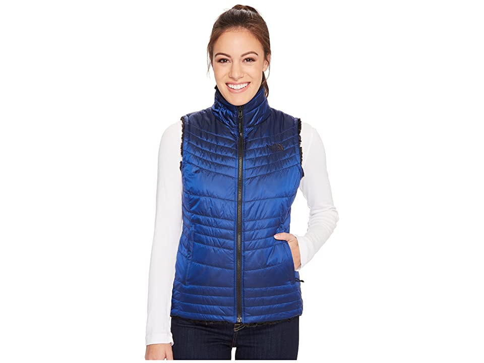 The North Face Mossbud Swirl Vest (Brit Blue) Women