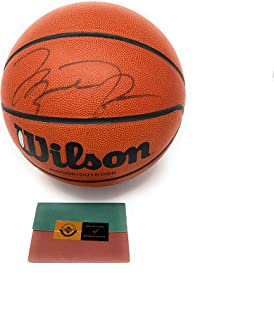 Michael Jordan Chicagto Bulls Signed Autograph Basketball Upper Deck Authentic Certified