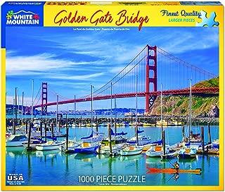 White Mountain Puzzles 1399 Golden Gate Bridge-1000Piece Puzzle