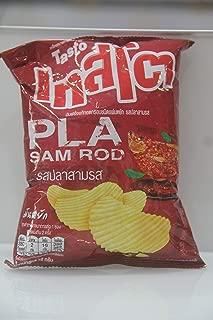 TASTO, Crispy Potato, Chips Fish Flavor (PLA SAM ROD), 11g X Pack 12