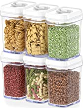 DWËLLZA KITCHEN Airtight Food Storage Containers with Lids Airtight – 6 Piece Set - Air Tight Kitchen Containers Pantry Or...