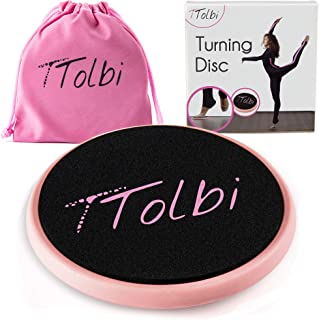 TTolbi Ballet Turning Board for Dancers, Gymnastics and Figure Skaters   Turn Disc to Improve Balance and Pirouette   Port...