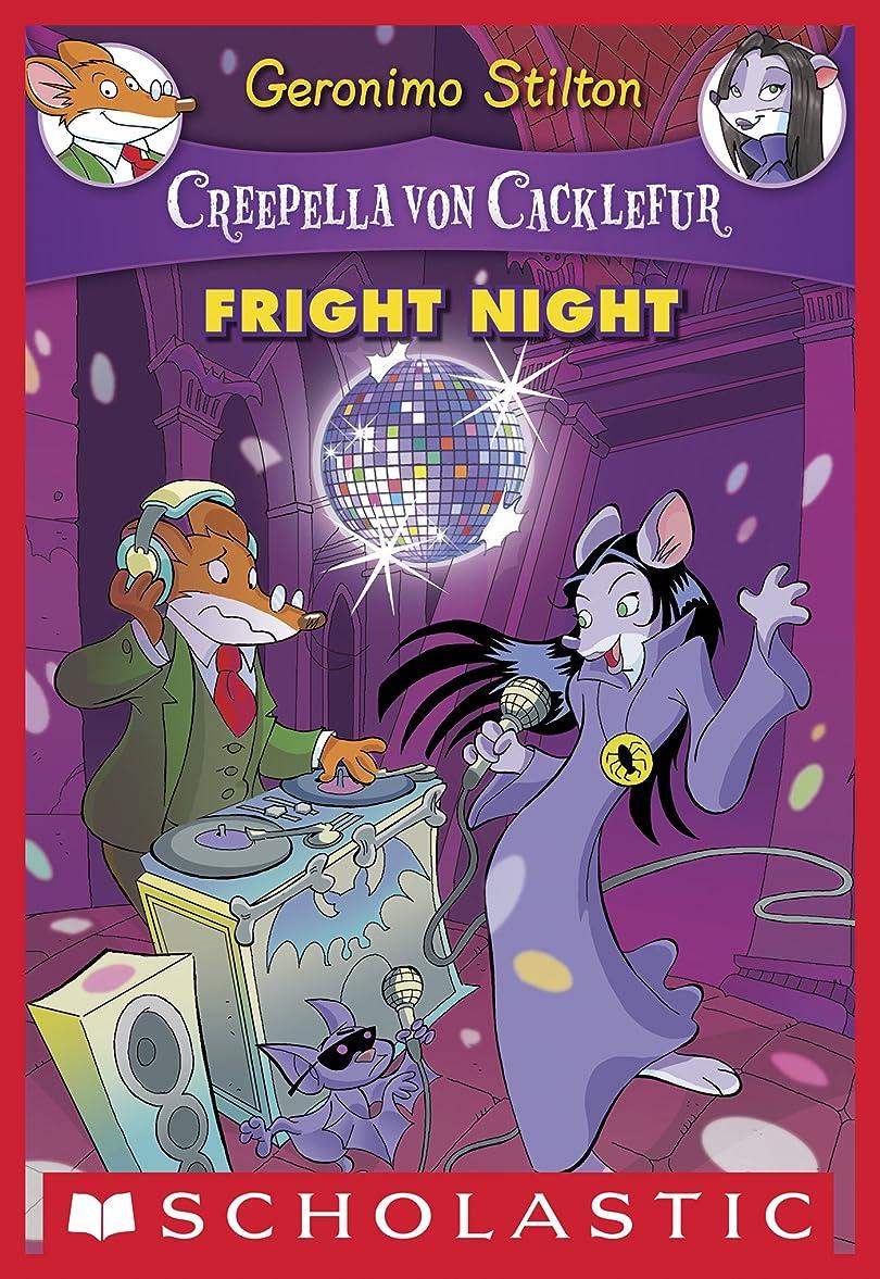 宣言する心配する持つCreepella Von Cacklefur #5: Fright Night (English Edition)