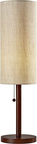 high quality Adesso new arrival 3337-15 Hamptons Table outlet sale Lamp, 31 in, 60 W Incandescent/13W CFL, Walnut Eucalyptus Wood, 1 Table Lamp sale