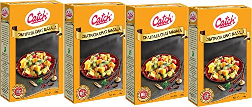 Catch Spices Chatpata Chat Masala 100gms (pack of 4)
