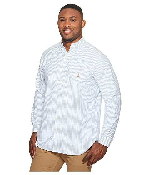 Sport Tall Ralph Polo Sleeve Oxford amp; Lauren Long Shirt Big PIIv8Fwn