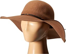 SCALA - Wool Floppy Hat with Wax Cord Trim