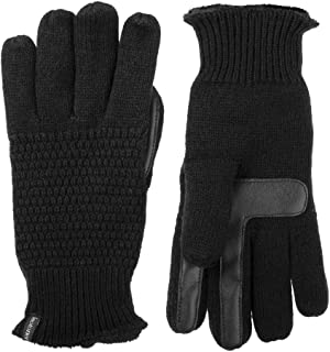Women's Knit Texting Plush Lined winter Gloves with Water Repellent Technology