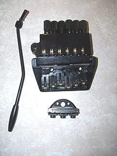 Headless electric guitar tailpiece or bridge
