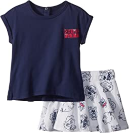 Tee Shirt and Skirt Tigers (Toddler)