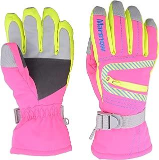 TRIWONDER Ski Snowboard Gloves Thermal Warm Winter Snow Skiing Gloves Cold Weather Mittens for Kids Men Women